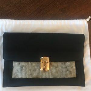 NWT | Balenciaga Padlock clutch